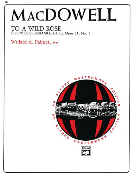 To a Wild Rose, Op. 51, No. 1
