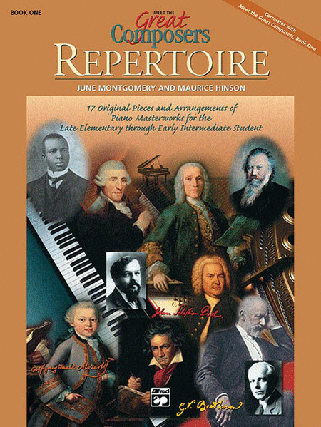 Meet the Great Composers -- Repertoire, Book 1