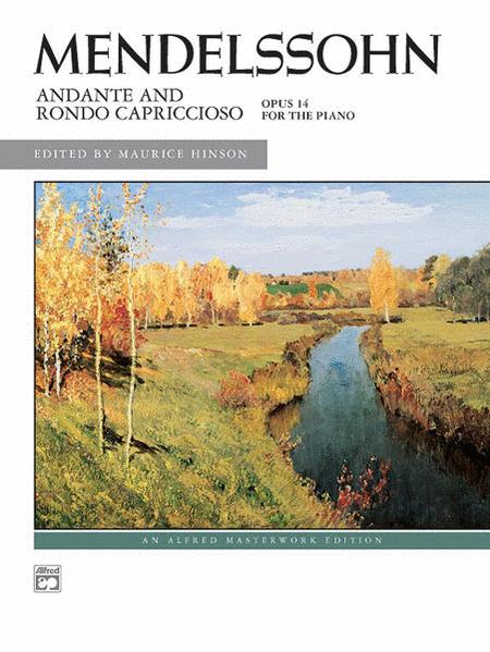 Andante and Rondo Capriccioso, Op. 14