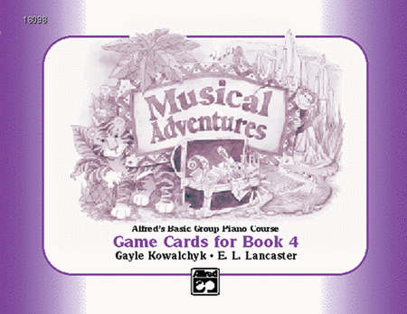 Musical Adventures Game: Game Cards, Level 4