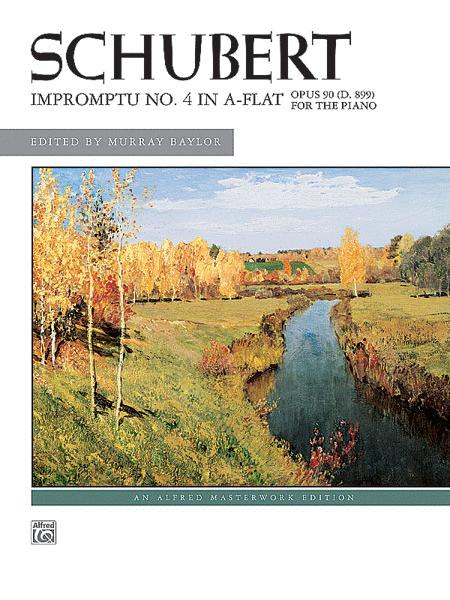 Impromptu, Op. 90, No. 4