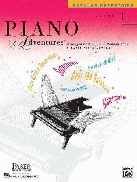 Piano Adventures Level 1 - Popular Repertoire Book