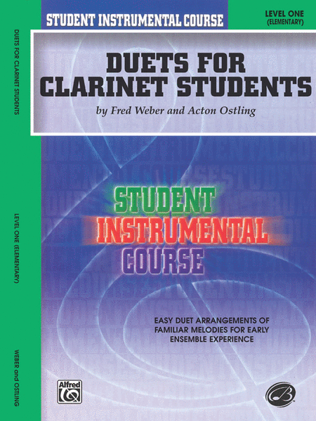 Student Instrumental Course Duets for Clarinet Students