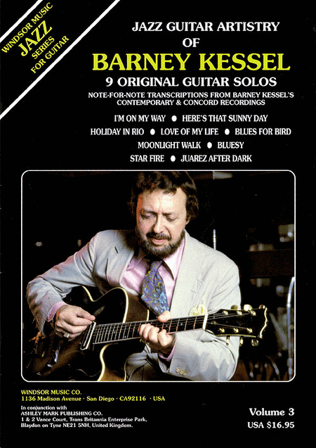 Jazz Guitar Artistry of Barney Kessel, Vol. 3