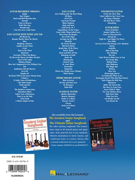 The Incredible Guitar Songbook