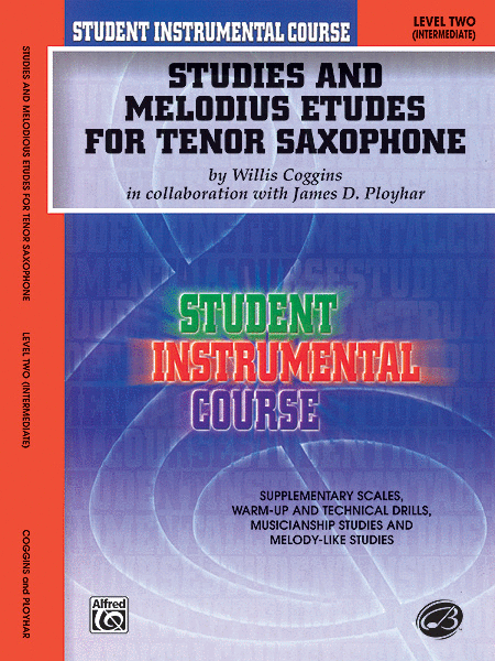 Student Instrumental Course Studies and Melodious Etudes for Tenor Saxophone