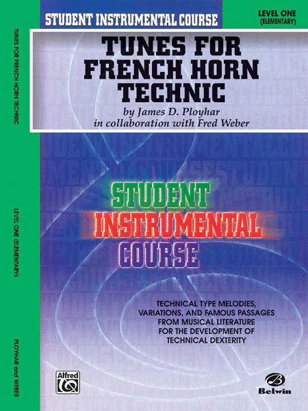Tunes For French Horn Technic Level I