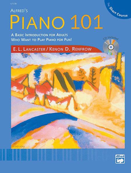 Piano 101: Short Course (Lesson Book & CD)