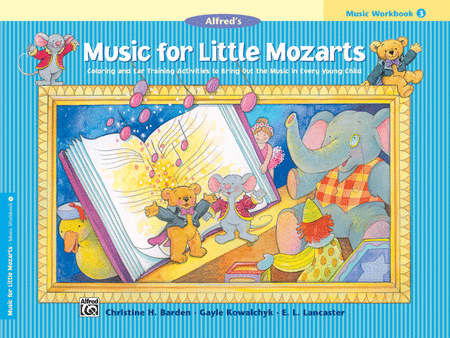 Music For Little Mozarts - Music Workbook (Book 3)