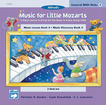 Music For Little Mozarts - General MIDI Disks For Book 4