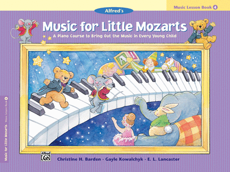 Music For Little Mozarts - Music Lesson Book 4