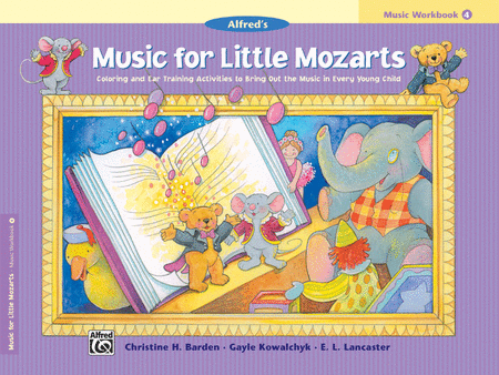 Music For Little Mozarts - Music Workbook (Book 4)