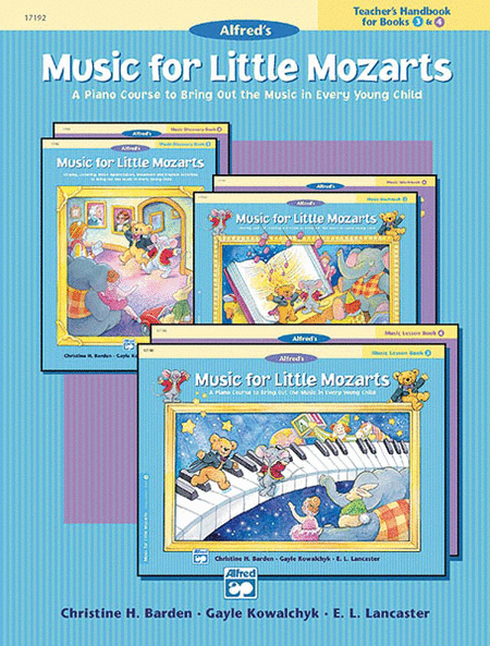 Music for Little Mozarts - Teacher's Handbook for Books 3 & 4