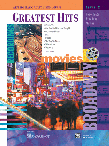 Alfred's Basic Adult Piano Course - Greatest Hits Book (Level 2)
