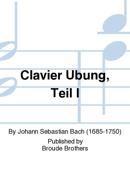 Clavier Ubung, Teil I