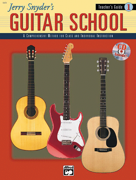 Jerry Snyder's Guitar School, Teacher's Guide, Book 1