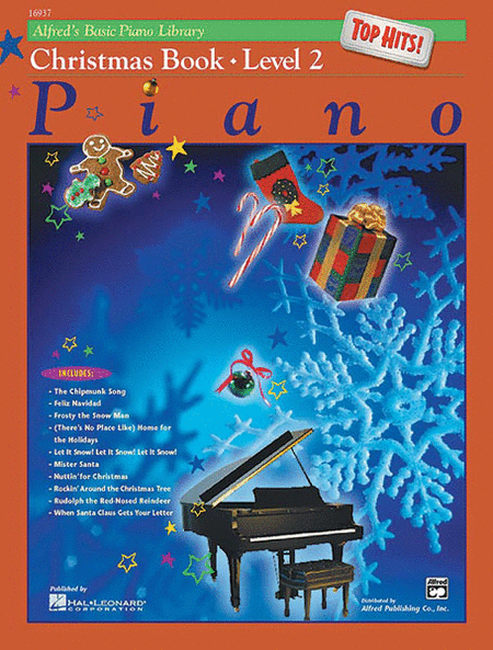 Alfred's Basic Piano Course - Top Hits! Christmas, Book 2