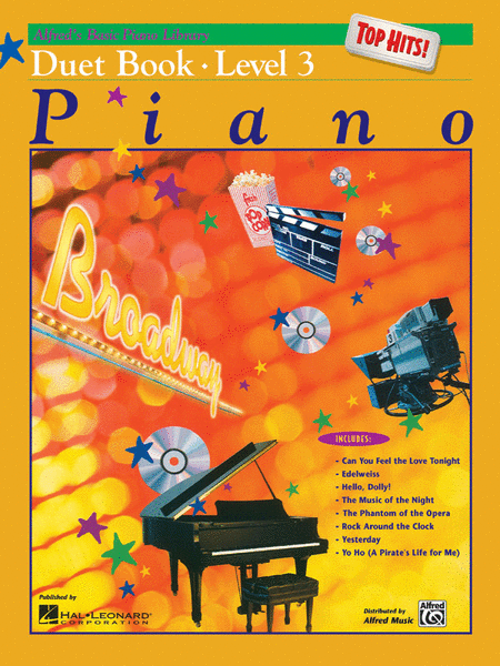 Alfred's Basic Piano Course - Top Hits! Duet Book, Book 3