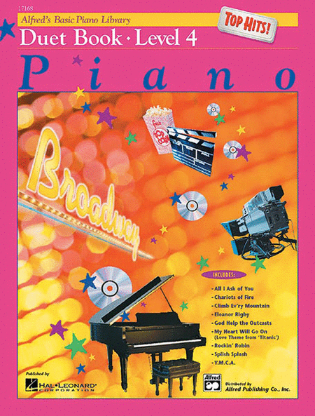 Alfred's Basic Piano Course - Top Hits! Duet Book, Book 4