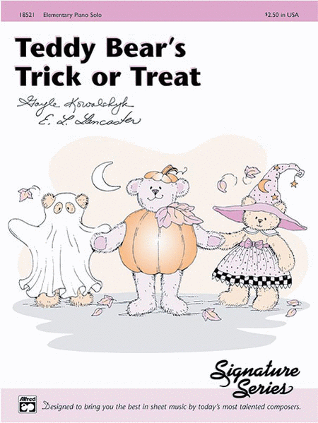 Teddy Bear's Trick or Treat