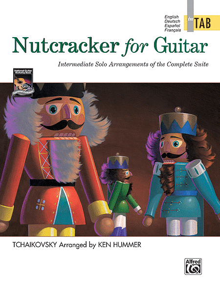 Nutcracker for Guitar In TAB
