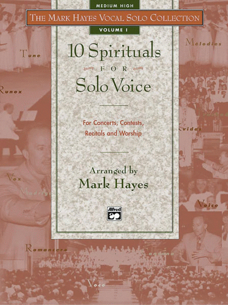 10 Spirituals for Solo Voice - Medium High (Book)