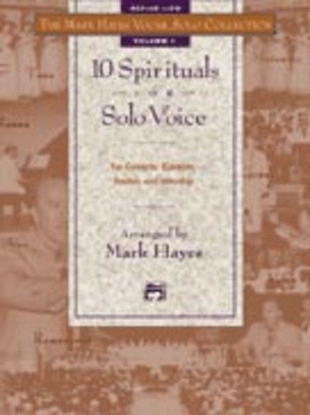 The Mark Hayes Vocal Solo Collection -- 10 Spirituals for Solo Voice