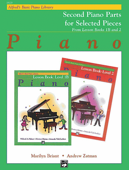Alfred's Basic Piano Course - Lesson Book Levels 1B & 2 Second Piano Parts