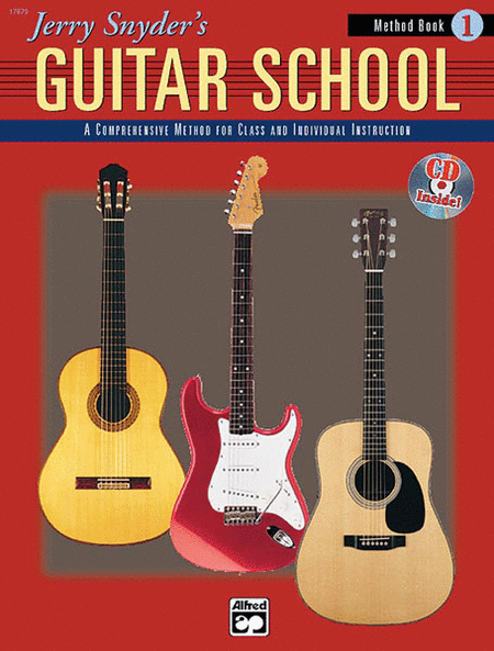 Jerry Snyder's Guitar School - Method Book 1 (Book/CD)
