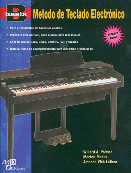 Basix: Electronic Keyboard Method (Spanish Edition)