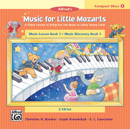 Music for Little Mozarts - Book 1 (CDs)