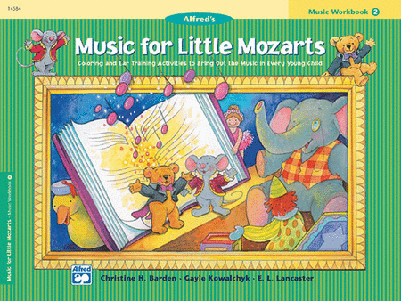 Music for Little Mozarts - Music Workbook (Book 2)