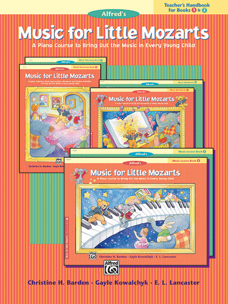 Music for Little Mozarts - Teacher's Handbook (Books 1 & 2)