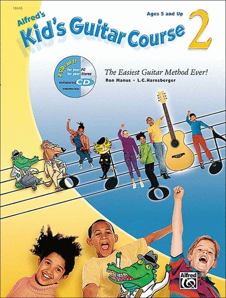 Alfred's Kid's Guitar Course 2 (Book & Enhanced Cd)