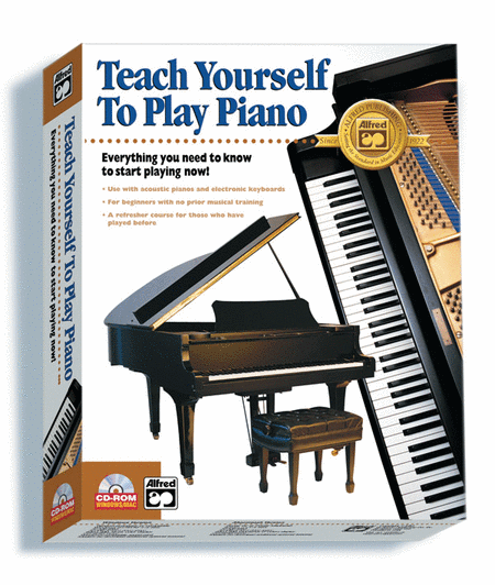 Alfred's Teach Yourself To Play Piano - CD-ROM
