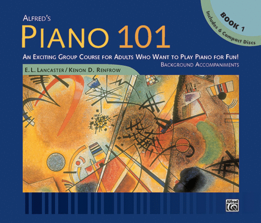 Piano 101: Level 1 (CD 6-disc set)