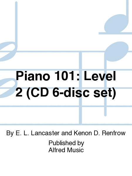 Piano 101: Level 2 (CD 6-disc set)