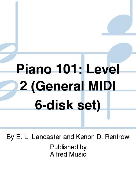 Piano 101: Level 2 (General MIDI 6-disk set)