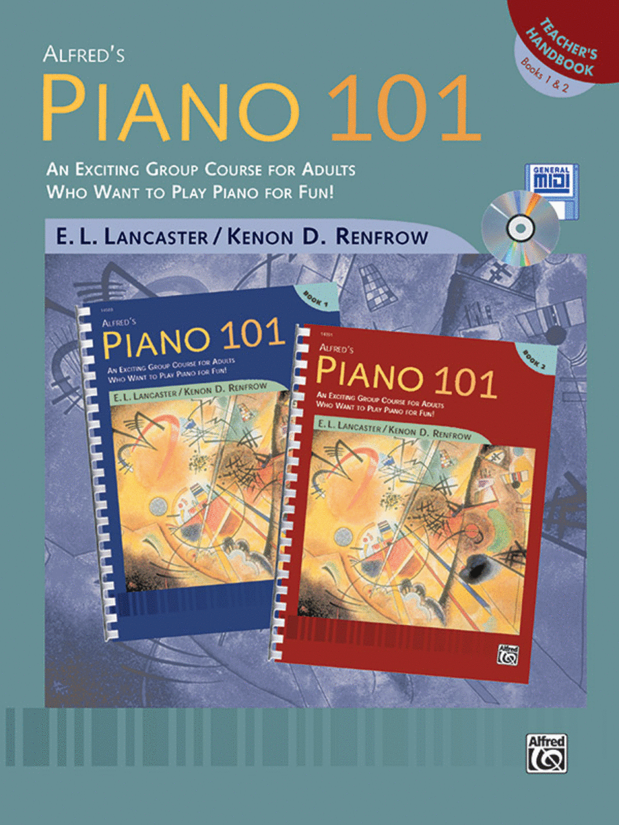 Piano 101: Teacher's Handbook for Books 1 & 2
