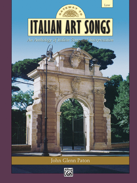 Gateway to Italian Songs and Arias