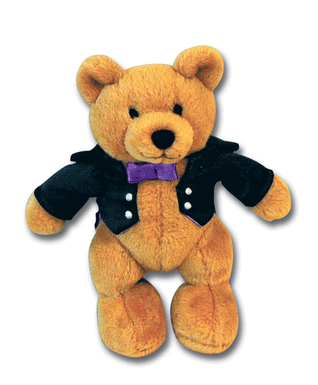 Music for Little Mozarts - Plush Toy -- Beethoven Bear