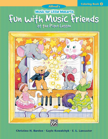 Music For Little Mozarts - Fun With Music Friends (Coloring Book 2)