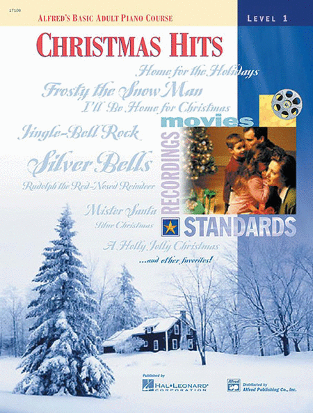 Alfred's Basic Adult Piano Course - Christmas Hits (Level 1)