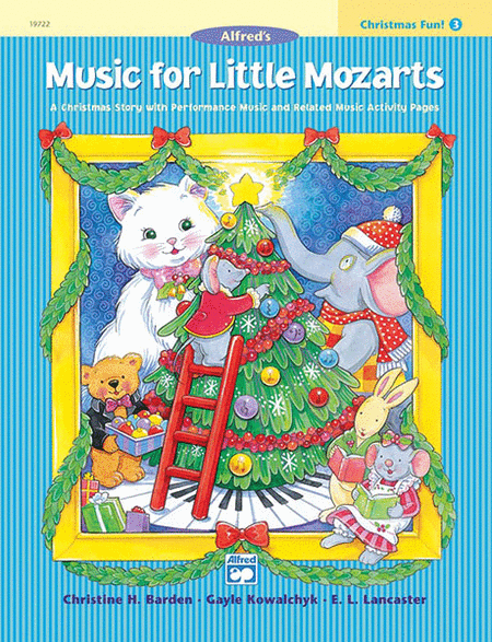 Music for Little Mozarts - Christmas Fun (Book 3)