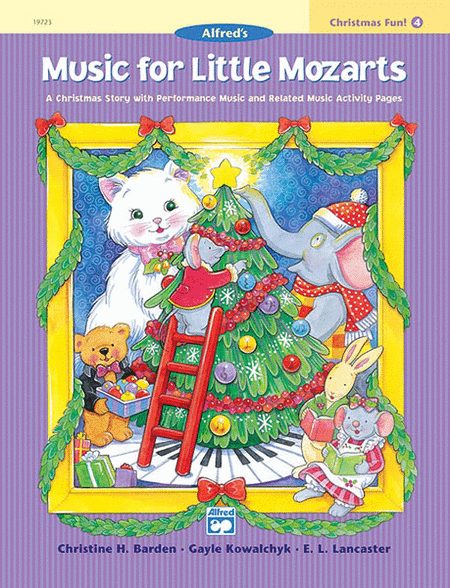 Music for Little Mozarts - Christmas Fun (Book 4)