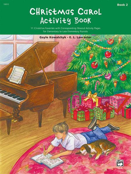 Christmas Carol Activity Book, Book 2