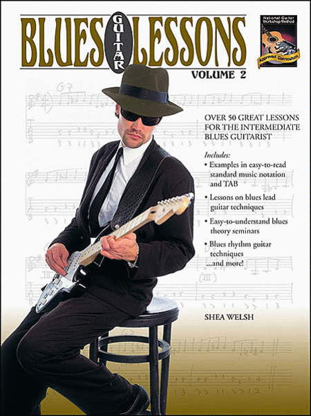 Blues Guitar Lessons, Volume 2