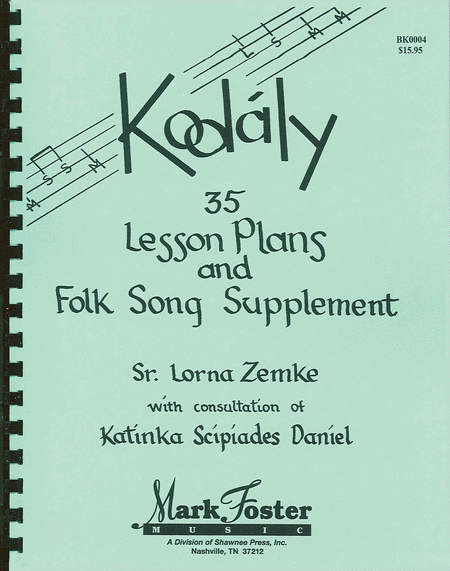 Kodaly - 35 Lesson Plans