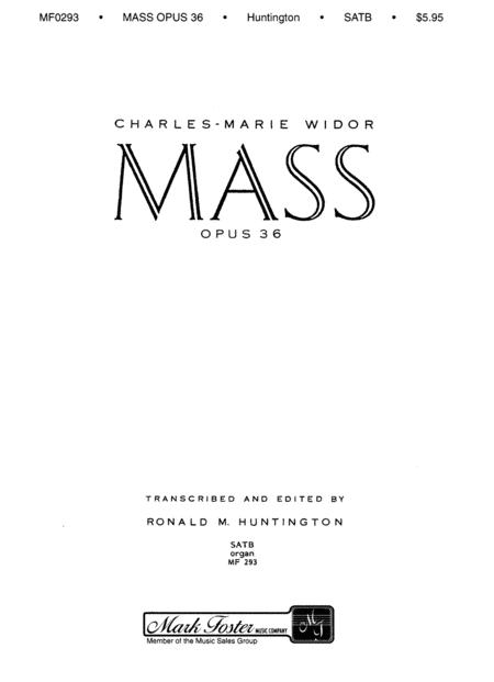 Mass, Op. 36