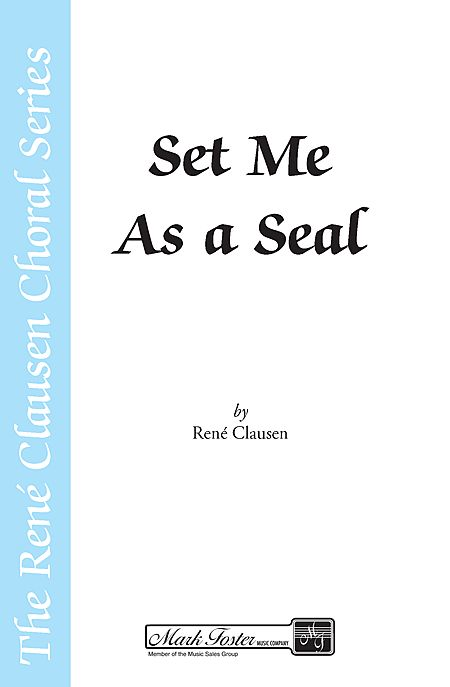 Set Me as a Seal (from A New Creation)